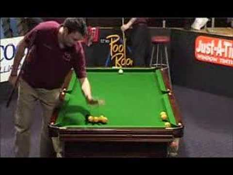 Pool TV ANZAC tournament - Steve Gray