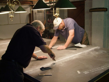 UK Snooker Table Construction