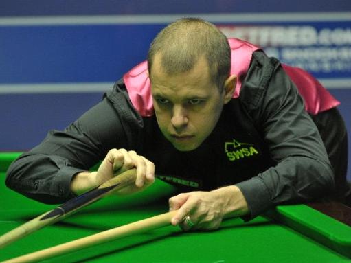Barry Hawkins Snooker World Championship 2012