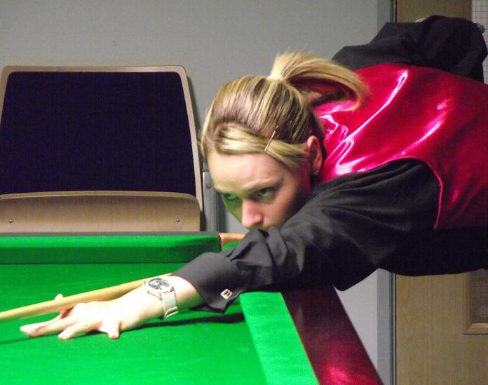 Reanne Evans World Women's Snooker Champion 2014