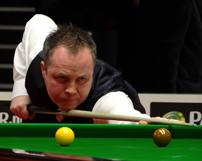 John Higgins Snooker 2012