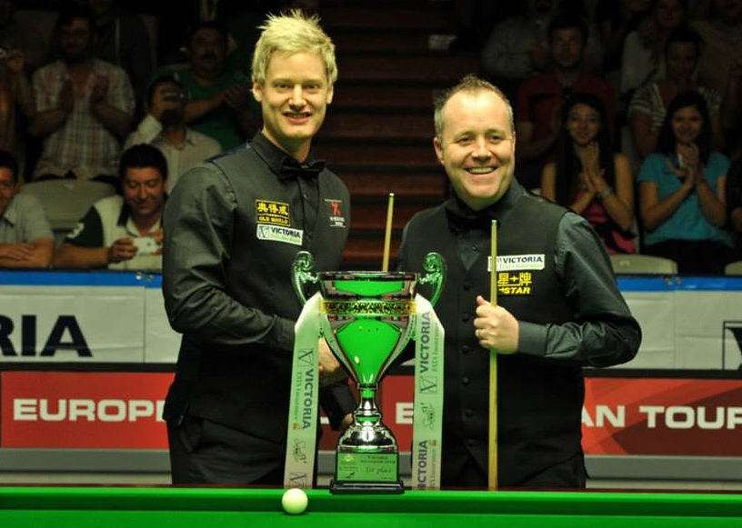 John Higgins wins season opener at the Bulgarian Open