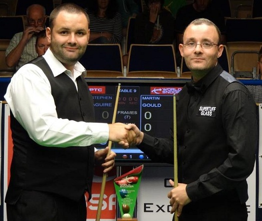 UKPTC2 2012 - Gould Outshines Maguire