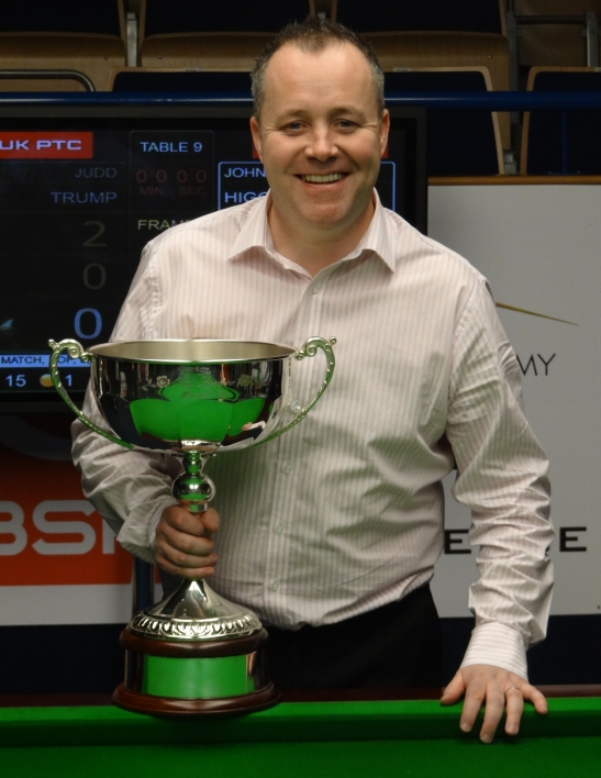 John Higgins Snooker Bulgarian Open Champion 2013