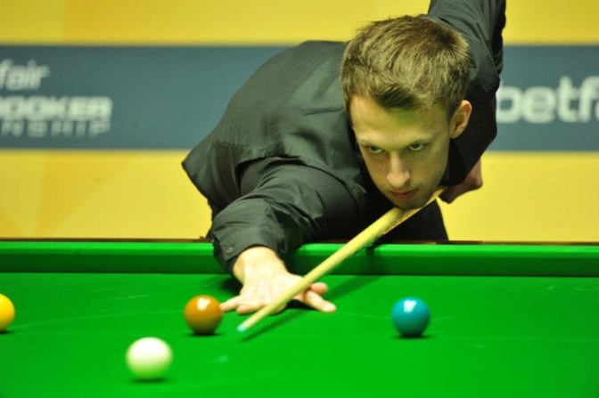 Judd Trump World Snooker Championship 2013