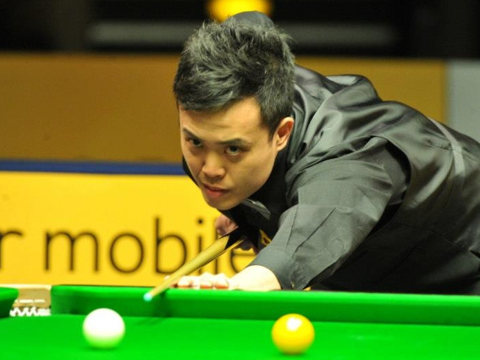 Marco Fu Snooker German Masters 2013