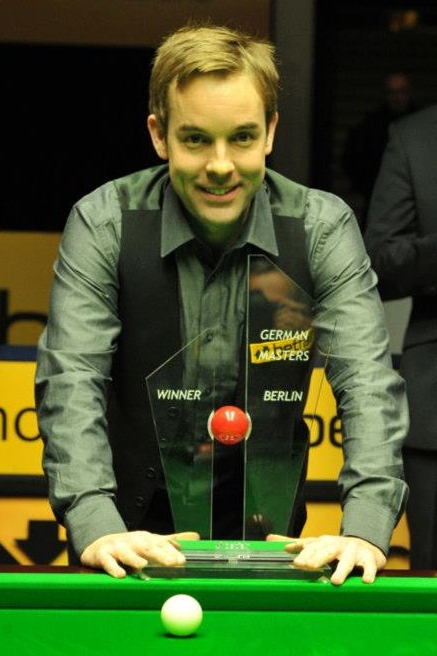 Ali Carter German Masters Snooker 2013 Champion