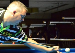 Chris Melling in action at GB9
