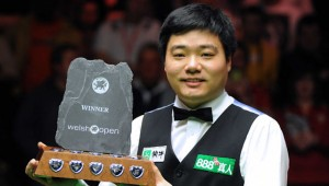 Snooker: Ding Wins the Welsh Open