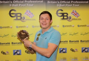 Phil Burford GB9 Challenge Cup 5 Winner