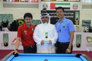Two Chinese Taipei Players Battle for World 8-Ball Title
