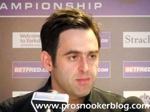 O'Sullivan Downs Carter For Fourth World Crown