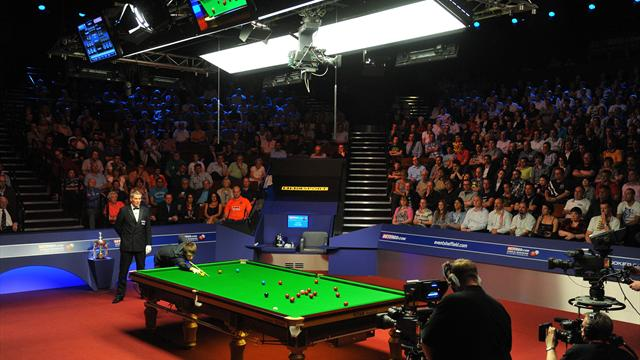 Snooker-Crucible century breaks