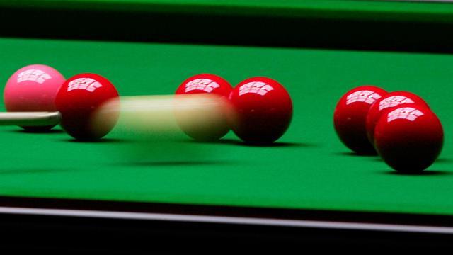 Snooker-Flawless Baird wins tour spot, Burns edges thriller
