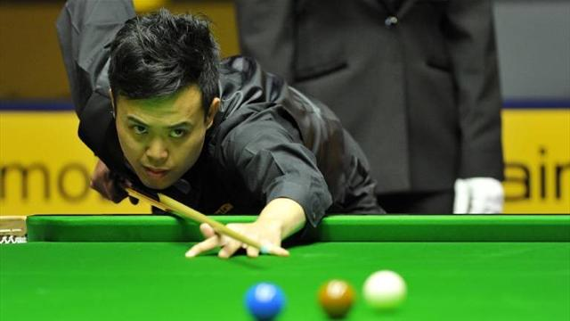 Snooker - Fu outlasts Hawkins to set up Carter final