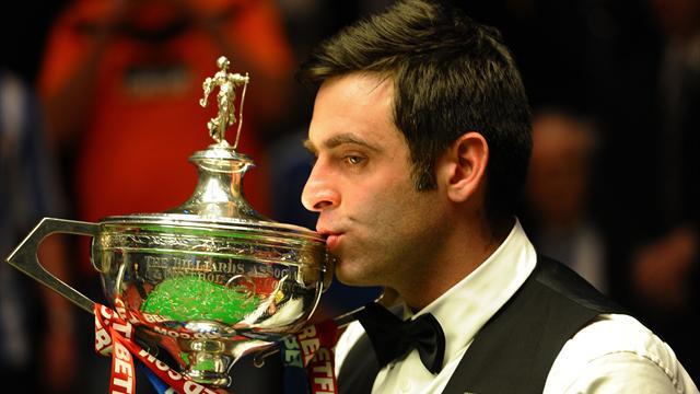 Snooker-Superb O'Sullivan claims fourth world title