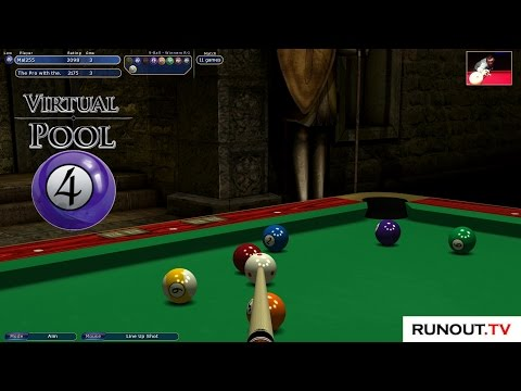 Virtual Pool 4 #75 9-Ball - Mal255 v Pro With The Show in Career Mode