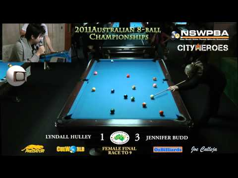 Australian 8ball final female Part1
