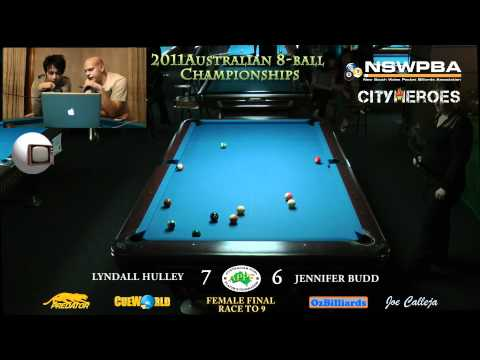 Australian 8ball final female Part2