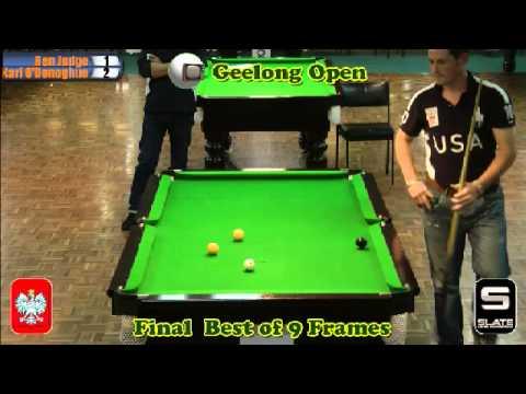 Geelong Open 8 Ball 2012 Final