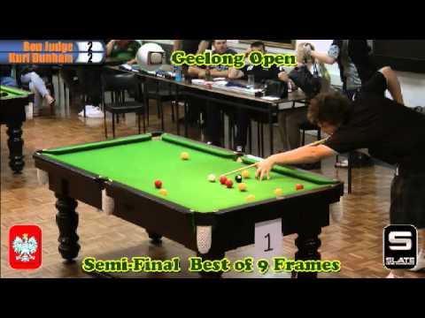 Geelong Open 8 Ball 2012 Semi Finals
