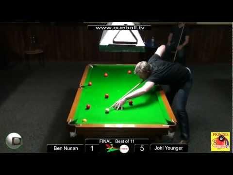 Princes 8 ball challenge 2011 Final Johl Younger v Ben Nunan