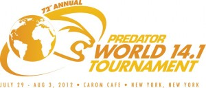 Predator World Tournament of Straight Pool in New York this August