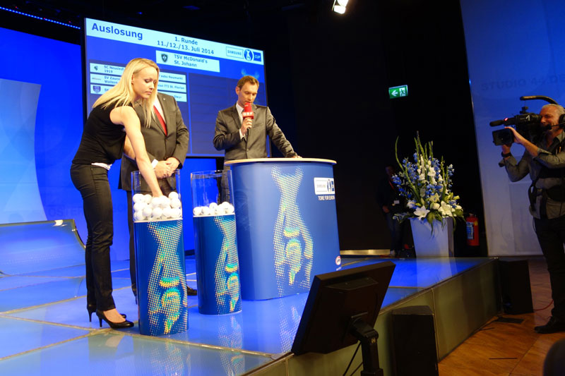 OEFB Samsung Cup 2014/15 draw