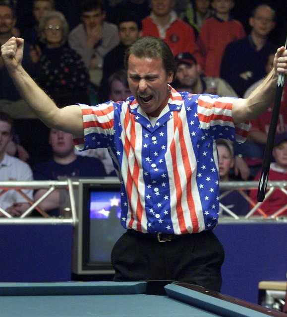Strickland Returns to the Mosconi Cup