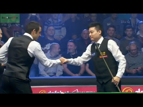Ronnie O'Sullivan v Ding Junhui SF Champion of Champions (eng)