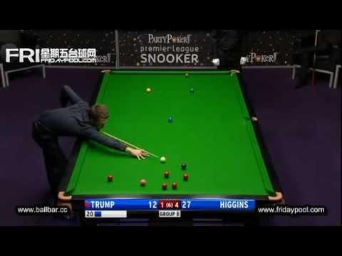 Judd Trump Vs John Higgins ~2012 Premier League snooker - final Event 7