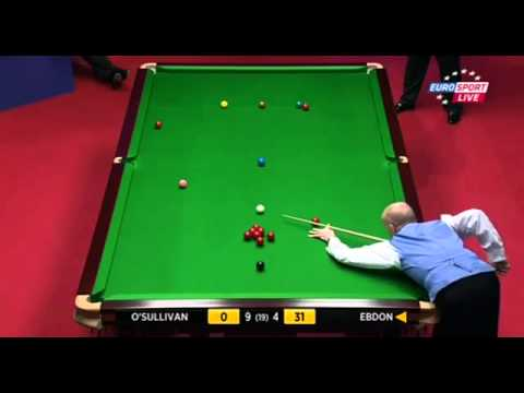 Ronnie O'Sullivan Wins After Peter Ebdon's Snooker Suicide