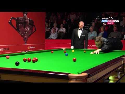 O'Sullivan Vs Hull World Snooker Championship Sheffield 2014 Frame 1