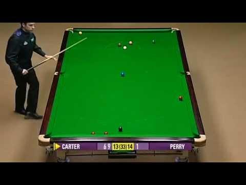 World Snooker Championship 2008 SF Joe Perry vs Ali Carter 25-28