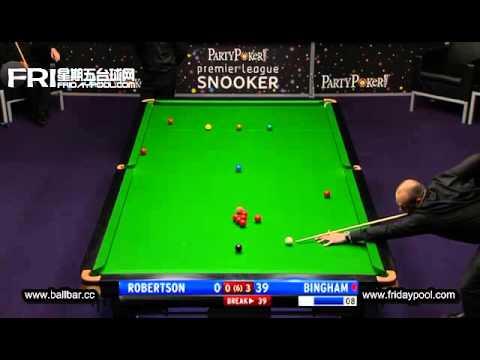 Neil Robertson Vs Stuart Bingham ~2012 Premier League snooker - final Event 7