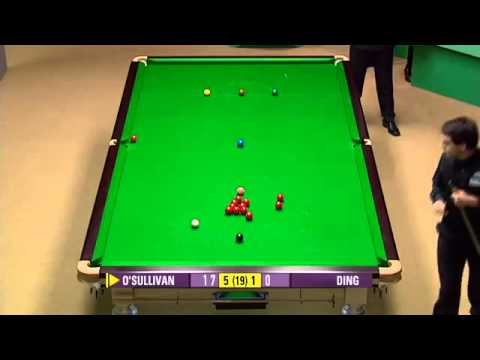 Ronnie O'Sullivan vs Ding Junhui [ Frame 5 - 9 ] - World Snooker Championship 2007