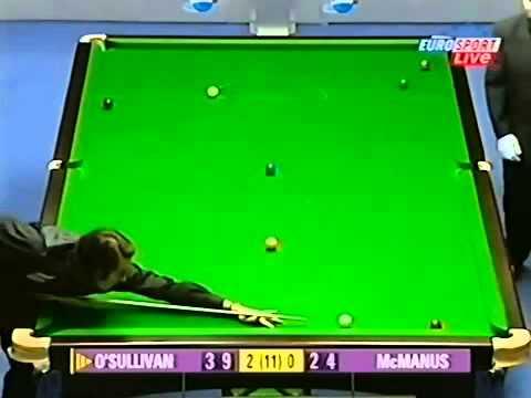 Ronnie O'Sullivan vs Alan McManus - Snooker Masters 2004