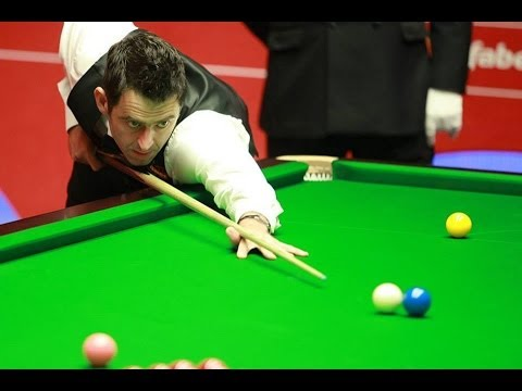 Ronnie O'Sullivan 124break vs Joe Perry - 2014 World Snooker Championship