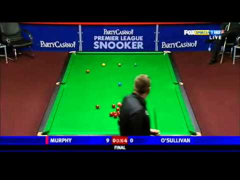 Ronnie O'Sullivan vs Shaun Murphy~2010 Premier League snooker-final