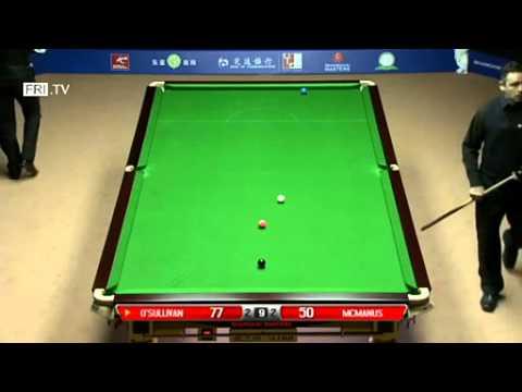 Snooker Shanghai Masters 2014 R1 Ronnie O'Sullivan vs Alan McManus