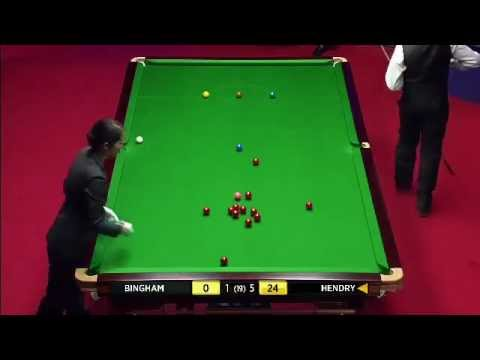 Snooker 147 Stephen Hendry - Snooker WCH 2012.flv