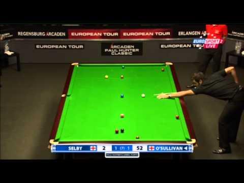 Ronnie O'Sullivan - Mark Selby (Full Match) Snooker Paul Hunter Classic 2013 - Semi Final