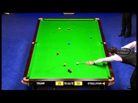 Ronnie O'Sullivan vs. Judd Trump Session 4 World Snooker Championship 2013 [BBC]