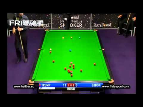 Judd Trump Vs Ebdon ~ 2012 Premier League snooker - final Event 5