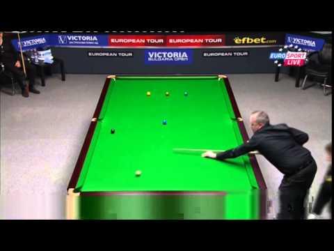 Snooker.Euro Tour Bulgaria 2014.JUDD TRUMP vs JOHN HIGGINS (4-1) Break 117,105.Full match
