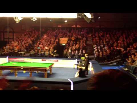 Snooker master London first round