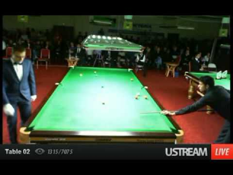 WORLD SNOOKER CHAMPION 2012 - Mohammed Asif From Pakistan :)