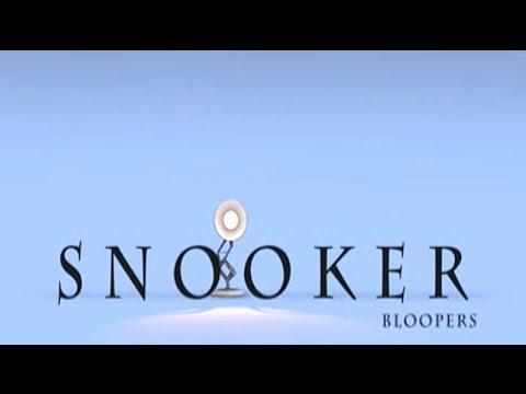 Snooker Bloopers