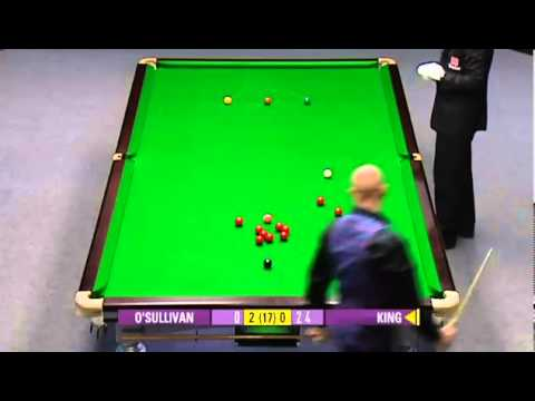 Ronnie O'Sullivan vs Mark King [Frame 1 - 4] - Snooker UK Championship 2007