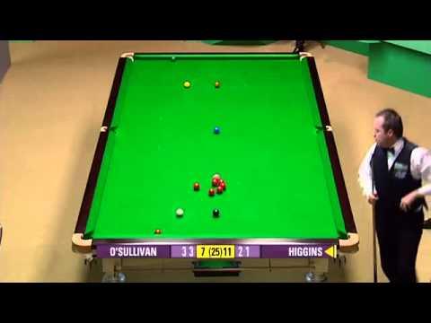 Ronnie O'Sullivan vs John Higgins [Frame 17 - 22] - Snooker World Championship QF 2007